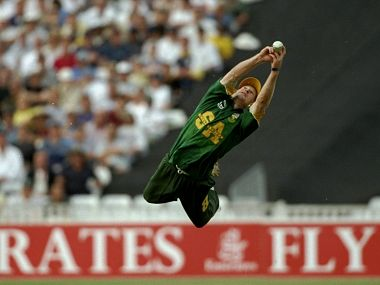 Jonty Rhodes. Getty Images