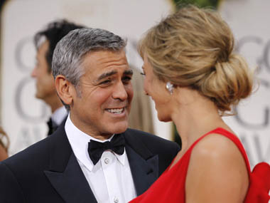 Clooney Leads Oscar Race; Pitt, Dujardin Not Far Behind