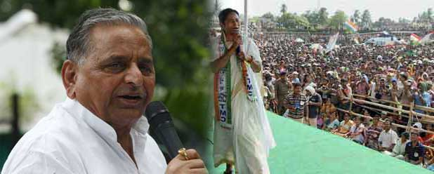 Mulayam Singh is a better ally for the Congress than Mamata