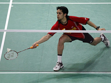 File picture of India's Parupalli Kashyap. Reuters