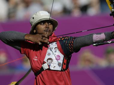 Deepika Kumari crashed out of the Olympics. AP