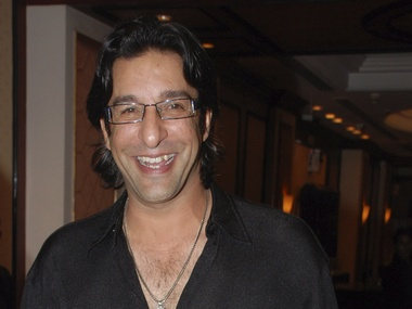 Wasim Akram is just too cool. Reuters