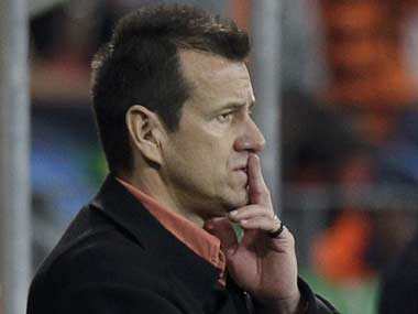 Dunga is in India as well. Reuters