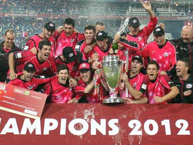 Sixers thrash Lions by 10 wkts to win Champions League