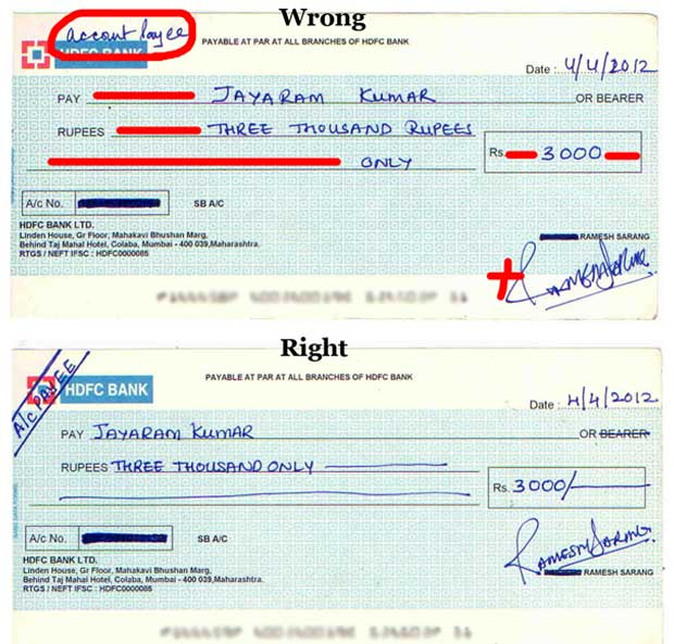 How To Fill SBI Cheque Book For Self Withdrawal