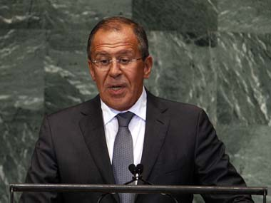 Russian Foreign Minister Sergey Lavrov. Reuters