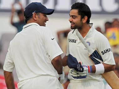 Dhoni and Kohli won't be playing at Kanpur. PTI