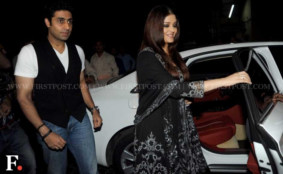 Abhishek and Aishwarya Bachchan at businessman Sunny Dewan's Christmas party held at his house in Bandra, Mumbai. Sachin Gokhale/Firstpost
