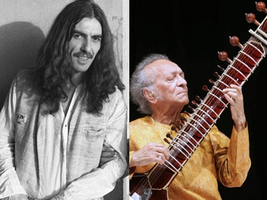 george harrison made ravi shankar famous. Black Bedroom Furniture Sets. Home Design Ideas