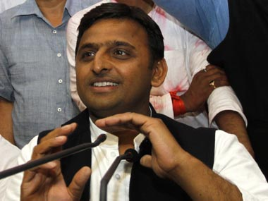UP chief minister Akhilesh Yadav. AP