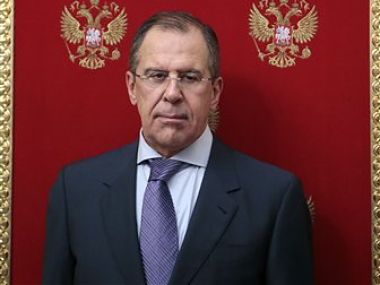 Russian Foreign Minister Sergey Lavrov. AP image