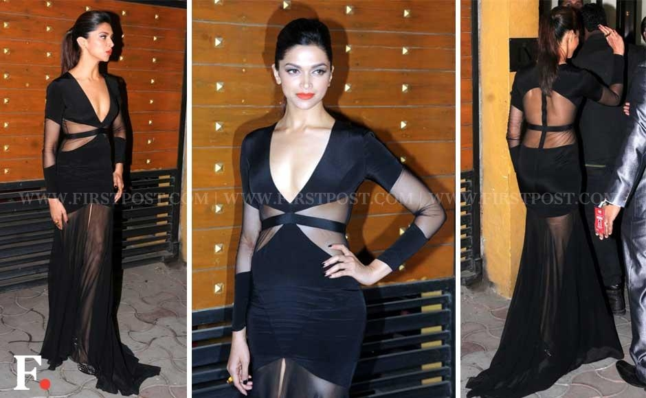 Deepika Padukone at Filmfare Awards ceremony. Sachin Gokhale/Firstpost