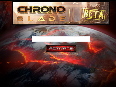 Screengrab of Chrono Blade from Facebook