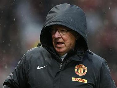 File picture of Manchester United's manager Ferguson. Reuters