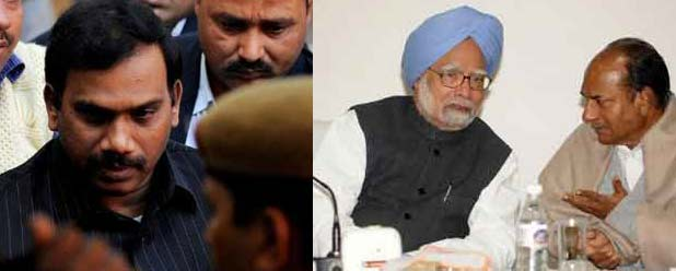 Corruption hides behind the cloak of the honesty of Manmohan Singh and AK Antony