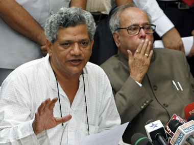 Sitaram Yechury. Agencies.
