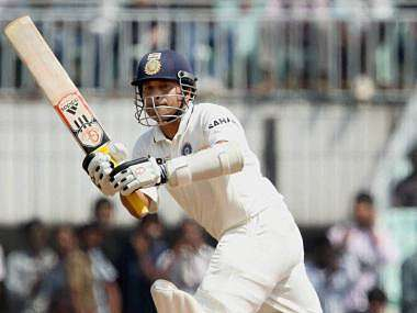 Sachin Tendulkar missed out on yet another hundred. PTI