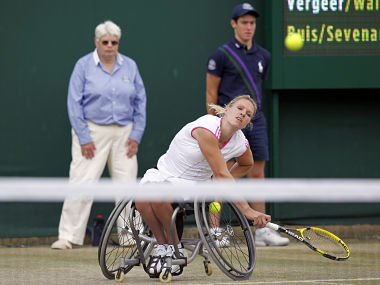 Esther Vergeer is one of the legends of the game. Reuters