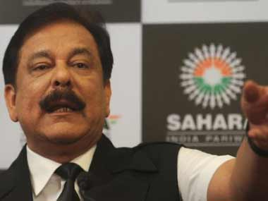 File photo of Subrata Roy. AFP