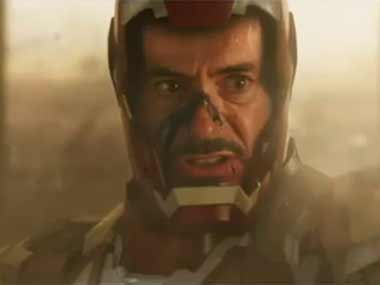 No more explosions: Downey in a still from the trailer. Image courtesy: YouTube