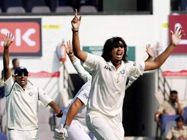 Ishant Sharma is India's unluckiest bowler ever. PTI