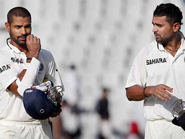 Shikhar Dhawan and Murali Vijay have impressed against Australia. PTI