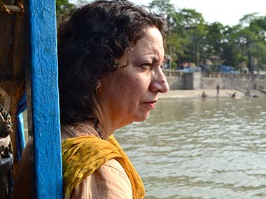 Fatima on the Ganges. Image credit: Usha Kaul/Riverfilms