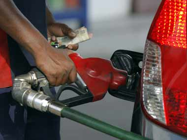 Petrol prices have been reduced by 85 paise per litre.
