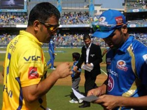 Dhoni and Rohit Sharma will lead their teams out in the battle for IPL 6. BCCI