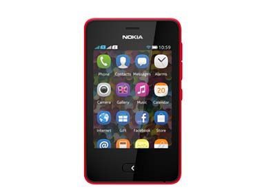 Nokia Asha 501 in this file photo.