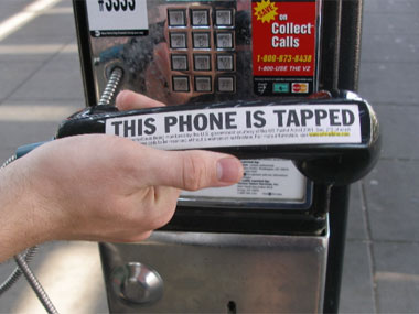 Government phone tapping?