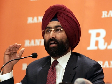 Malvinder Singh, chief executive of Ranbaxy. Reuters