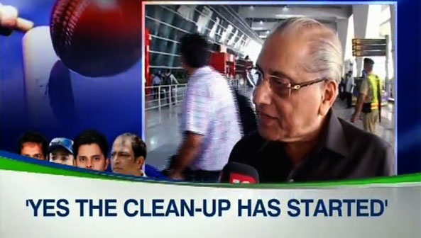 Started the process of cleaning up Indian cricket