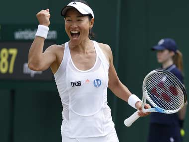 The popular Japanese player is enjoying an Indian Summer in her career having returned to the circuit in 2008, following a 12-year hiatus. Reuters