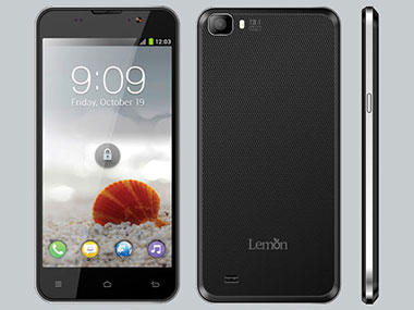 A4 smartphone by Lemon Mobiles.