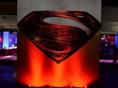 Atmosphere detail at the 'Man Of Steel' world premiere after party at Skylight at Moynihan Station on 10 June 2013 in New York City. AFP