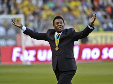 File photo of Brazilian legend Pele. Reuters
