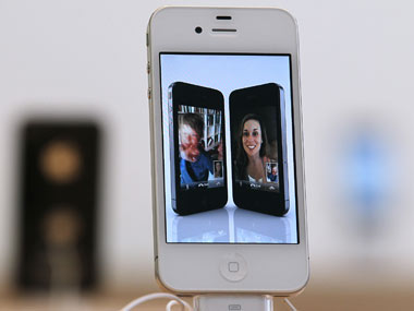Apple iPhone 4S in this file photo. Getty Images