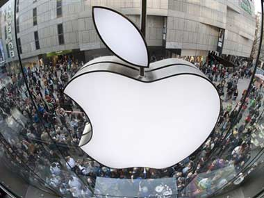 Apple logo is seen in this file photo.