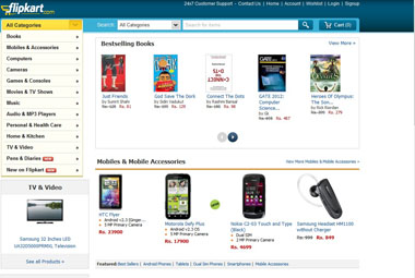 Flipkart. Website/ Screengrab