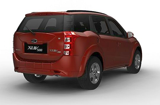 The Mahindra XUV