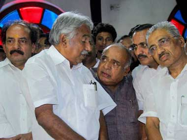 Not just Chandy, many of his cabinet ministers are also in the dock. PTI