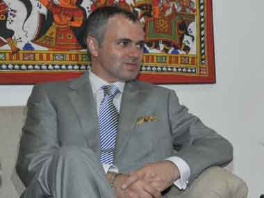 Jammu and Kashmir Chief Minister Omar Abdullah. Image courtesy PIB
