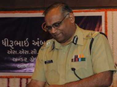 Gujarat Police chief Amitabh Pathak. AFP
