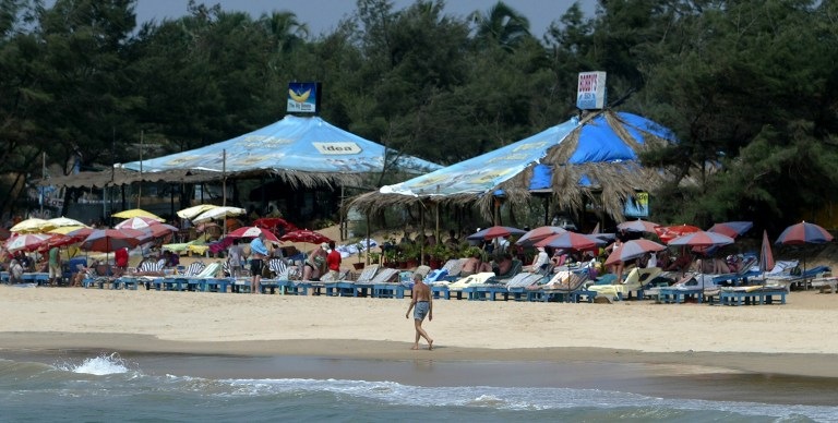 Goa, over the last few years has been witness to large groups of all-male tourists from nearby states who, the tourism department officials claim, have been unflattering to the state's profile. AFP