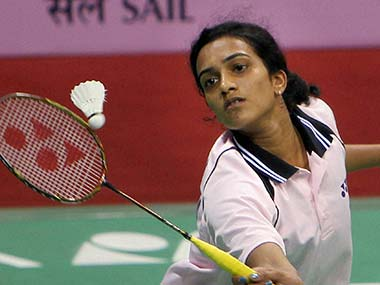 PV Sindhu in this file photo. PTI