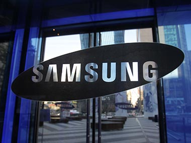Samsung Galaxy logo is seen in this file photo. Getty Images