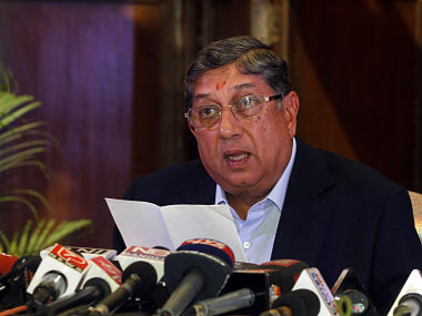 File picture of Srinivasan. Reuters