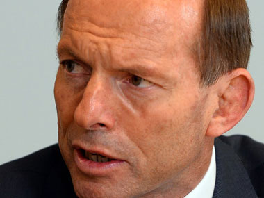 Tony Abbott. AFP.