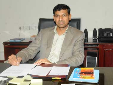 RBI Governor Raghuram Rajan. Image courtesy PIB